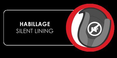 habillage silent lining